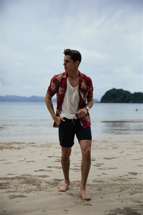 Menu0026#39;s beach outfit | The Male Mannequin. | Pinterest | Beach Summer and Menu0026#39;s fashion