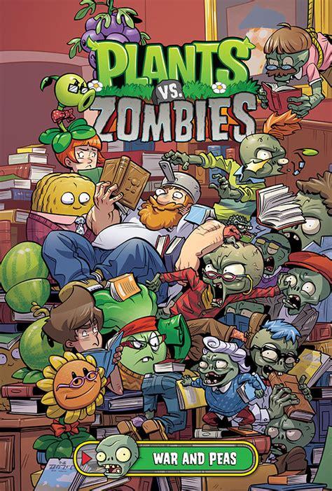 zombies plants vs comics war peas volume horse dark profile preview books