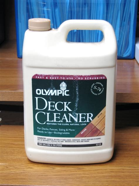 olympic deck cleaner  gallon biodegradable