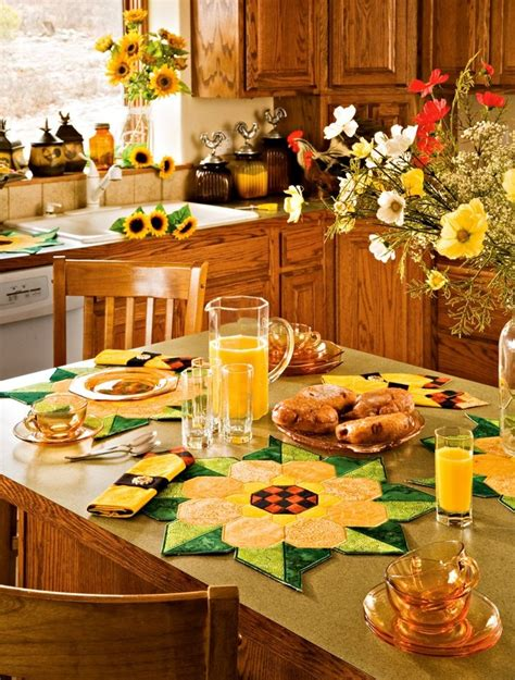 sunflower kitchen decor ideas  modern homes