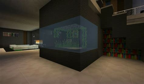 modern fish tank minecraft fish tanks modern and fish