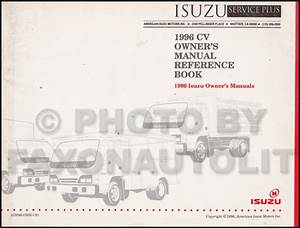 1996 Isuzu Truck Owners Manual Npr Frr Fsr Ftr Fvr Owner