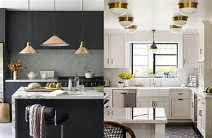 kitchen trends 2018 and kitchen designs 2018 ideas and tips With kitchen cabinet trends 2018 combined with stickers gold