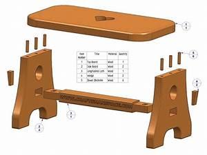Practical stool plan