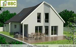 maison junglekeyfr image With plan de maison moderne 5 maison contemporaine beaune etec