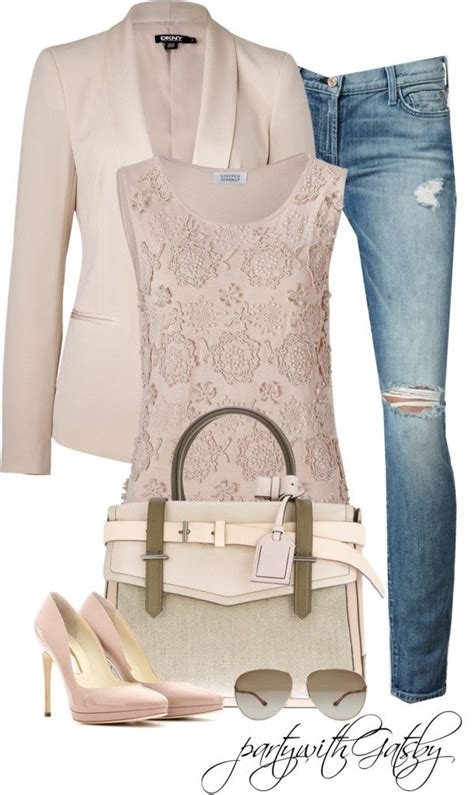Best Spring Polyvore Outfit Combinations For Women 2018 | FashionGum.com