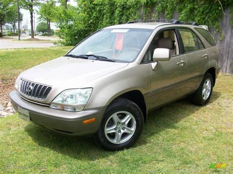 2001 Burnished Gold Metallic Lexus Rx 300 Awd 8481867