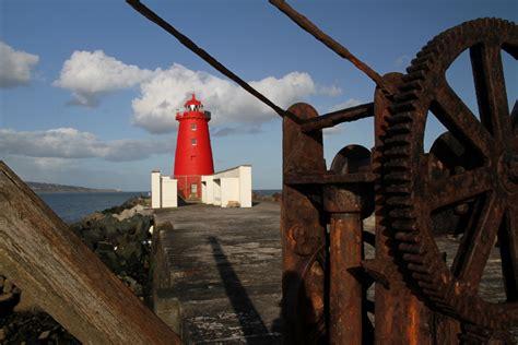 poolbeg lighthouse great south wall dublin bay county dublin