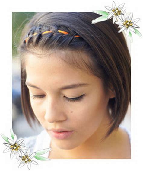 flechten kurze haare