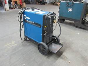 Miller Millermatic 250mp Mig Welder Package W  Wire Feeder Cords Single Phase