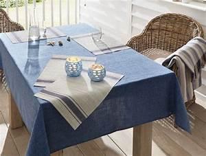 Blaue Quadrate Mit Tisch : platzset blue stripes 4er set leinenoptik beige mit ~ A.2002-acura-tl-radio.info Haus und Dekorationen