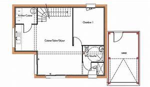 22 best maisons toit plat images on pinterest mobile With plan maison 110m2 etage