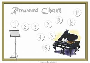 Free Potty Reward Chart Sticker Charts With A Music Theme