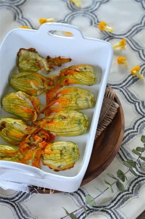 cuisiner des fleurs de courgettes fleurs de courgettes au four farcies à la ricotta