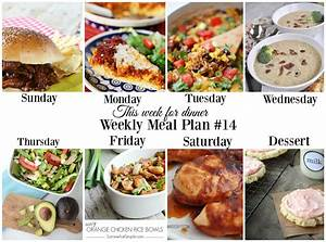 This Week For Dinner Meal Plan  14