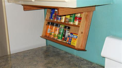 Spice Rack In Cabinet by 18 Spice Rack Drawer Cabinet Mounting For By Amwoodpro
