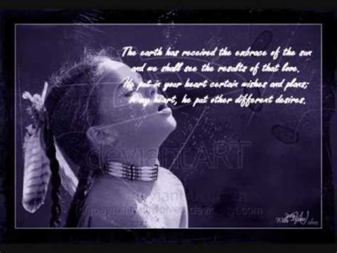 sacred spirit native american quotes youtube