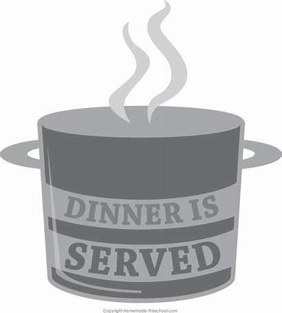 Clipart Chef Dinner Served
