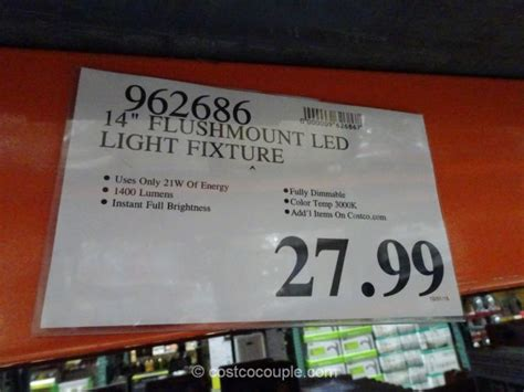 led ceiling light fixture costco meganraley