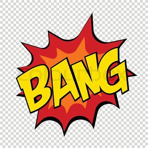 Bang Comics Icon Pop Art Speech Stock Vector Colourbox