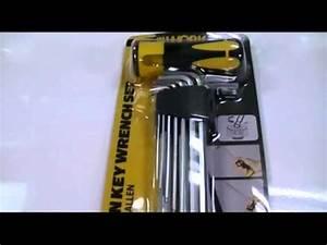 Schiebevorhang Set Aldi : workzone aldi 10 pc hex allen key wrench set review youtube ~ Orissabook.com Haus und Dekorationen
