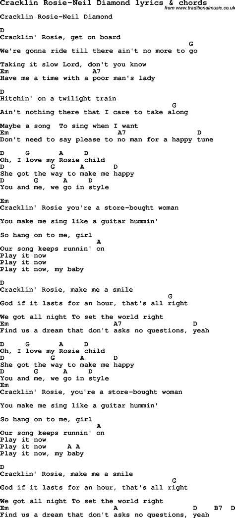 Neil Diamond Ukulele Chords
