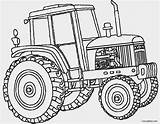 Coloring Deere John Tractor Printable Cool2bkids sketch template