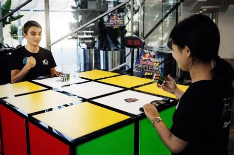 Red Bull, Wca And Rubik's Cube Competitions
