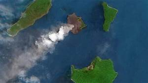 Krakatau Landslide Likely Caused Tsunami