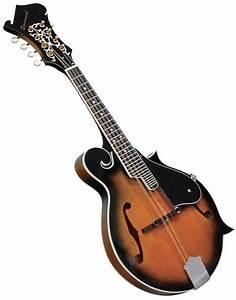 Savannah F Style Sunburst Mandolin