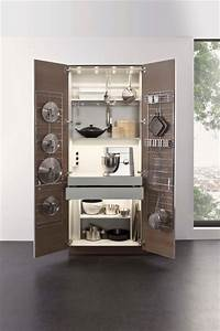 Leicht collection 2016 cabinets insert and storage for Modern kitchen pantry cupboard