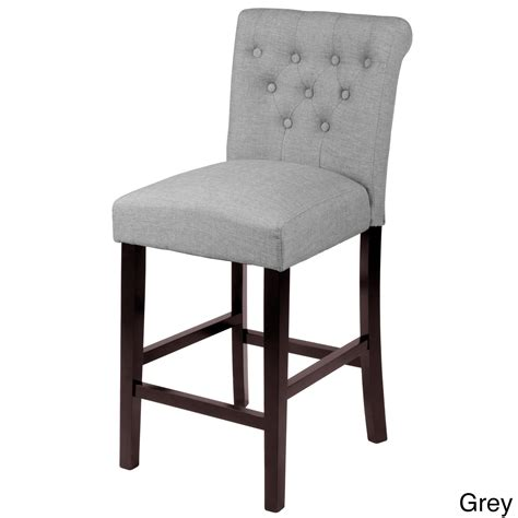 best deals on bar stools sopri upholstered counter chairs set of 2 overstock