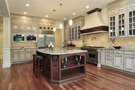 Antique Kitchen Ideas by Colored Kitchen Cabinets Newsonair Org