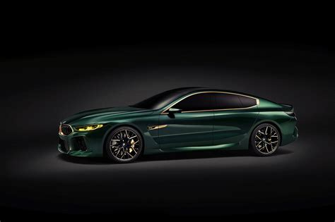 Four Door Bmw Concept M8 Gran Coupe Concept Unveiled In