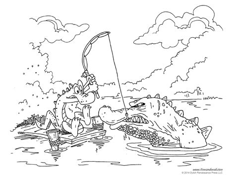 Cajun Coloring Pages