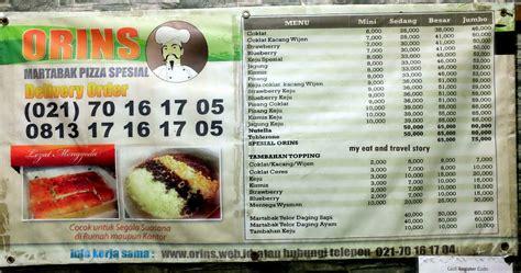 eat  travel story ngemil martabak orins jakarta