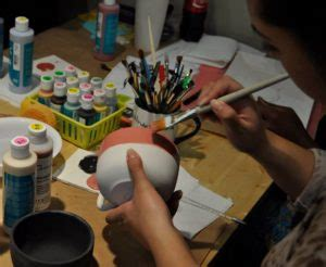 paint   pottery throwing mud gallery