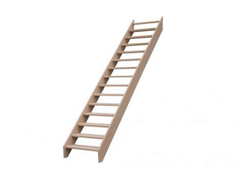 escalier droit en h 234 tre sans contre marche sans re hauteur 300 cm