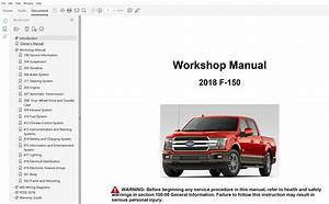 2018 Ford F150 Repair Manual