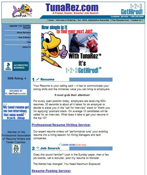 Resume Writing Services Reviews by Best Resume Writing Service Tunarez Review