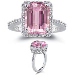 pink gemstone engagement rings all fashionable jewellery in one place