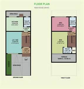 row home floor plans floor plan palm realties green lagoon at vajreshwari
