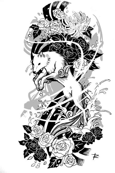 Pin by Jebba Fong on Tattoo | Tattoo sleeve designs, Wolf tattoos, Sleeve tattoos