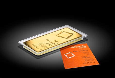 500 G Minted Gold Bar