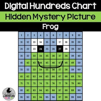 hopping fun frog hundreds chart hidden picture  math  life cycles