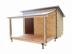 Niche Pour Chien Avec Terrasse : niche pour chien niche avec terrasse jardin ~ Dailycaller-alerts.com Idées de Décoration