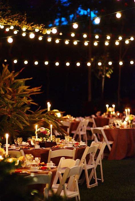 fairy lights wedding reception real weddings candice mike s diy wedding in florida intimate weddings small wedding