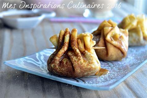 de cuisine ramadan aumônière de crêpes aux pommes et caramel beurre salé le