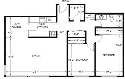 Modern House Plans Bedroom Floor Plan Best Simple Small
