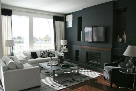 Schwarze Tapete Wohnzimmer by 90 Neue Tapeten Farben Ideen Teil 2 Archzine Net